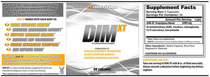 DIM XT Label